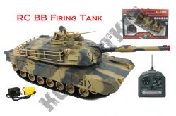 Remote Control Tank 3808 T90 Airsoft BB Firing with Sound 1/24 Scale